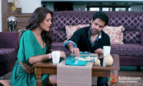 Esha Gupta and Emraan Hashmi In Raaz 3 Movie Stills