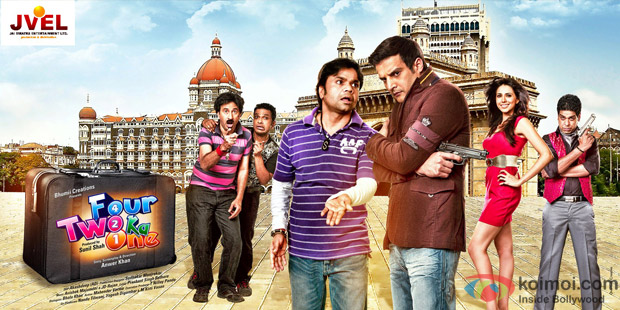Rajpal Yadav and Jimmy Shergill starrer Four Two Ka One Movie Poster Wallpaper