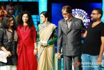 Gauri Shinde, Sridevi, Amitabh Bachchan, R.Balki On The Sets Of Kaun Banega Crorepati