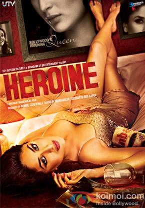 Kareena Kapoor in a Heroine Movie Poster