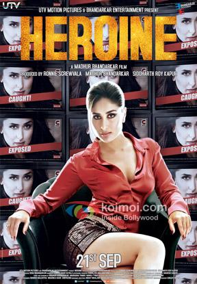 Kareena Kapoor starrer Heroine Movie Poster