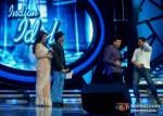 Hussain Kuwajerwala Anu Malik and Akshay Kumar OMG Oh My God! Movie Music Launch On Indian Idol Season 6