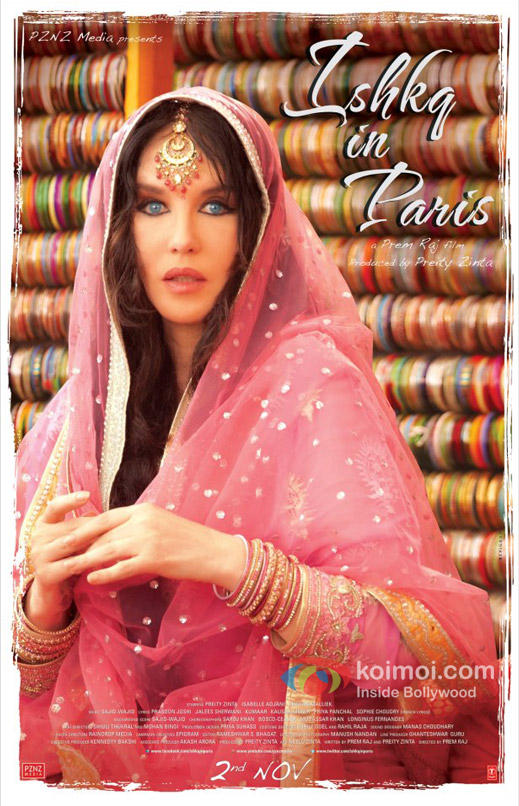 Isabelle Adjani In Ishkq In Paris Movie First Look Poster