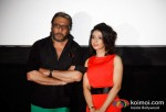 Jackie Shroff, Anjum Nayar At Cover Story Movie First Look Trailer Launch