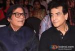 Jagdeep and Jeetendra At Mahurat Of Indo Kiwi Films Ye Deewangi Ye Deewanapan Movie
