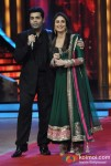 Karan Johar, Kareena Kapoor Visits The Sets Of Jhalak Dikhla Jaa At Filmistan Studios