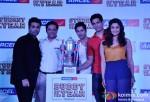 Karan Johar, Varun Dhawan, Sidharth Malhotra, Alia Bhatt At Aircel Presents Buddy Of The Year Trophy