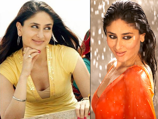 Kareena Kapoor in a Still from Jab We Met and 3 Idiots Movie