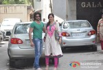 Karnvir Bohra and Teejay Sidhu At Salman Khan's Ganesha Arrival