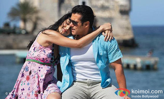 Katrina Kaif And Salman Khan (Ek Tha Tiger Movie Stills)