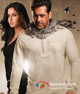 Katrina Kaif and Salman Khan (Ek Tha Tiger Movie Poster)