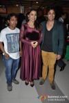 Kranti Redkar, Aniket Vishwasrao Attends The Premier Of No Entry Pudhe Dhoka Aahe At Fun Cinemas