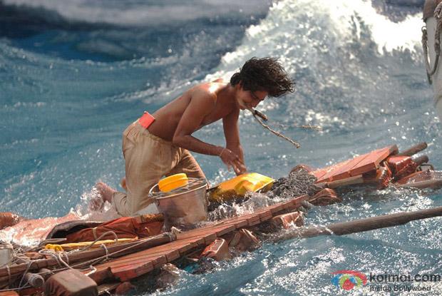Suraj Sharma in Life Of Pi Movie Stills