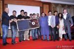 Loy Mendonca, Ehsaan Noorani, Prasoon Joshi, Anurag Kashyap, Bedabrata Pain, Shankar Mahadevan, Manoj Bajpayee, Vega Tamotia And Alexx ONeil At Chittagong Movie Music Launch