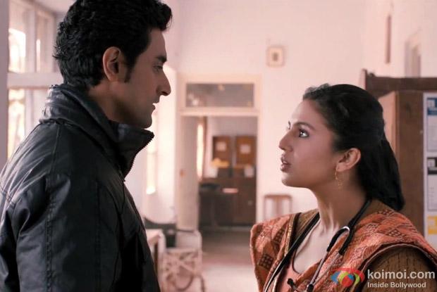 Kunal Kapoor and Huma Qureshi in Luv Shuv Tey Chicken Khurana Movie Stills