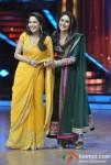 Madhuri Dixit, Kareena Kapoor Visits The Sets Of Jhalak Dikhla Jaa At Filmistan Studios