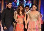 Manish Malhotra, Priyanka Chopra and Sonakshi Sinha At 'Mijwan-Sonnets in Fabric' fashion show
