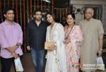 Manish Malhotra, Raj Kundra, Shilpa Shetty, Sunanda Shetty, Surendra Shetty At Jeetendra Kapoor's Ganpati Visrajan