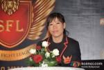 Mary Kom At SFL (Super Fight League) Press Meet
