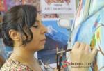 Ms.Sangeeta Babani Painted The First Tata Nano Car Art