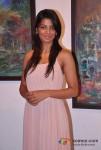 Mugdha Godse Attends Shyam Kishore Mishra's Art Event Held At Kalaghoda