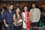 Nakash Sargam, Sai Lokur Attends The Premier Of No Entry Pudhe Dhoka Aahe At Fun Cinemas