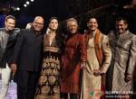 Narendra Kumar, Ahmed, Nargis Fakhri, D J Aqeel, AD Singh Walks For JJ Valaya at Bridal Fashion Week Finale