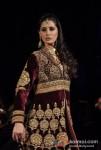 Nargis Fakhri Walks For JJ Valaya at Bridal Fashion Week Finale