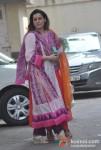 Neelam Kothari At Salman Khan's Ganesha Arrival