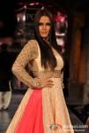 Neha Dhupia At 'Mijwan-Sonnets in Fabric' fashion show