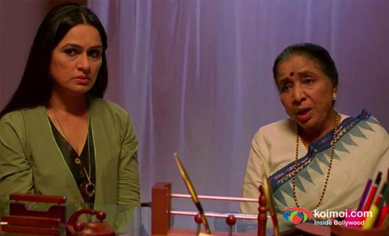 Padmini Kolhapure and Asha Bhosle (Mai Movie Stills)