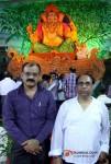 Pankaj Shukla and Harish Sharma Perform First Day Ganpati Aarti