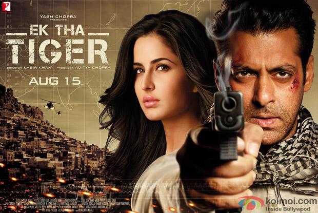 Salman Khan and Katrina Kaif starrer Ek Tha Tiger Movie Poster