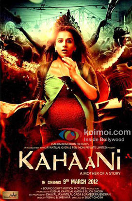 Vidya Balan starrer Kahaani Movie Poster