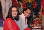 Preity Zinta, Sonakshi Sinha At Salman Khan's Ganpati Visrajan