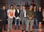 Prem Raj, Rahul Vaidya, Wajid Ali, Rhehan Malliek, Sajid Ali, Kishan Kumar, Preity Zinta At Ishkq In Paris Music Launch