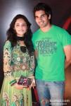 Priya Borde and Chinmay Mandelkar At The Strugglers Amhi Udyache Hero Marathi Movie Music Launch