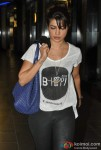 Priyanka Chopra At Airport Returns From Los Angeles (L.A.) Pic 4
