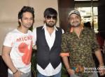 Rahul Vaidya, Wajid Ali, Sajid Ali At Ishkq In Paris Music Launch