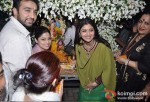 Raj Kundra, Shamita Shetty At Shilpa Shetty's Ganpati Visarjan