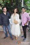 Raj Kundra, Shilpa Shetty, Manish Malhotra At Jeetendra Kapoor's Ganpati Visrajan