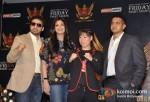 Raj Kundra, Shilpa Shetty, Mary Kom At SFL (Super Fight League) Press Meet