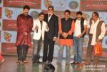Rajpal Yadav, Amitabh Bachchan, Ashutosh Rana, Manoj Tiwari At Ata Pata Lapata Movie Music Launch
