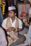 Rajpal Yadav Visits Andheri Ka Raja Ganesha Pic 2