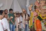 Rajpal Yadav and Jeetu Verma Visits Andheri Ka Raja Ganesha