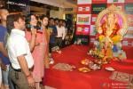 Rajpal Yadav Visits Ganesh Pandal At Oberoi Mall Pic 2