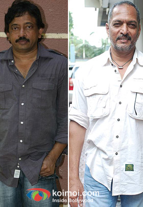 Ram Gopal Varma and Nana Patekar