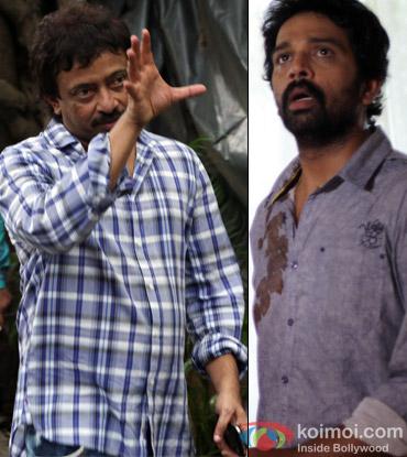 Ram Gopal Verma and J. D. Chakravarthy