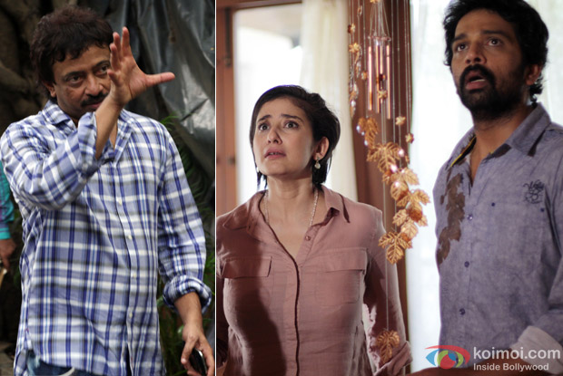 Ram Gopal Verma on The Sets Of Bhoot Returns And Manisha Koirala, J.D. Chakravarthy in Bhoot Returns Movie Stills