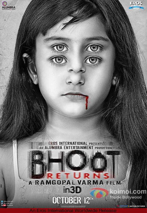 Ram Gopal Verma's Bhoot Returns In 3D Movie First Look Poster